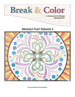 Break & Color, Abstract Fun, Volume 1