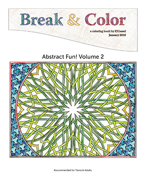 Break & Color, Abstract Fun, Volume 2